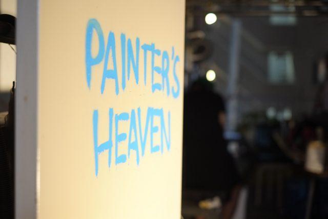 屋上「Painter's Heaven」への入り口